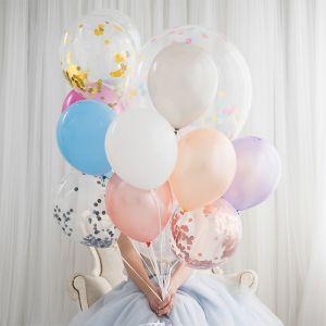Confetti ballonnen roségoud (6st) House of Gia