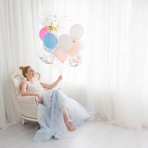 Ballonnen lichtblauw (10st) Perfect Basics House of Gia