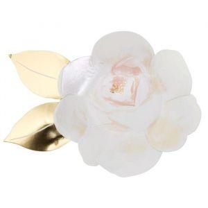 Borden White Rose (8st) Meri Meri