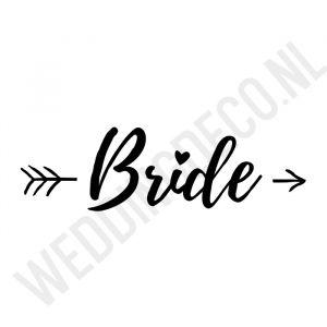 T-shirt Bride Pijl