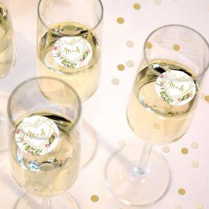 Champagnemuntje Geometric Floral