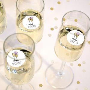 Champagnemuntjes watercolor festival