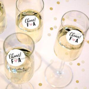 Champagnemuntje cheers