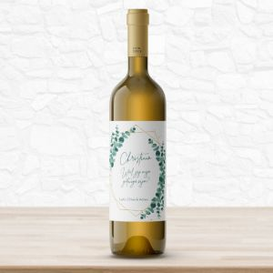 Wijnfleslabel Golden Green getuige vragen