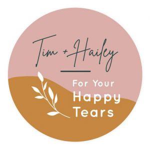 happy tears etiket abstract garden