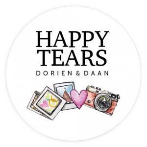 Happy tears etiket watercolor festival