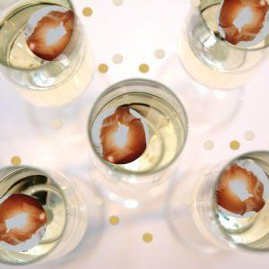 Champagnemuntje met foto