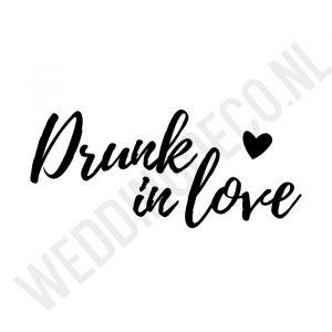 T-shirt Drunk in love