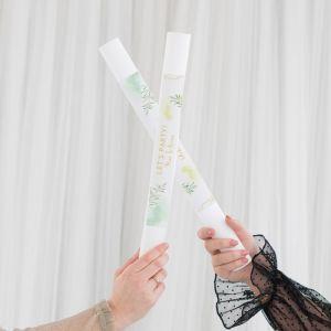 Foam stick met personalisatie geometric floral