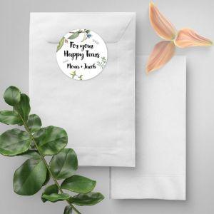 Happy tears etiket love blooms