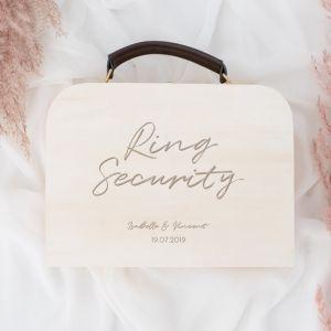 Gepersonaliseerd koffertje ring security chique