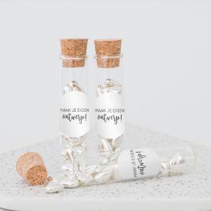 Little sweets buisje trouwbedankje eigen ontwerp