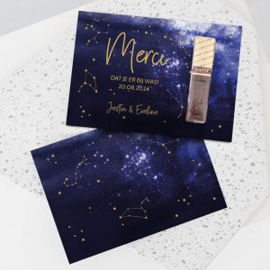 Merci bedankje Galaxy