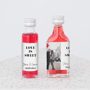 Mini flesje met foto