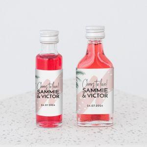 Mini flesje Paradise love
