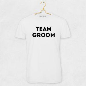 T-shirt Team Groom Industrieel