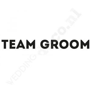 T-shirt Team Groom Industrial
