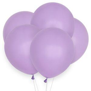 Pastel ballonnen lila (10st)