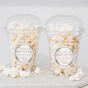 Popcorn beker beautiful botanics rosegoud