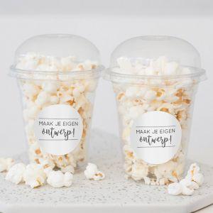 Popcorn beker Eigen Ontwerp
