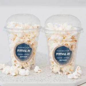Popcorn beker indigo eco