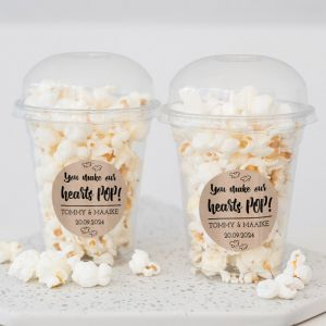 Popcorn beker kraft