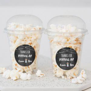 Popcorn beker Krijtbord