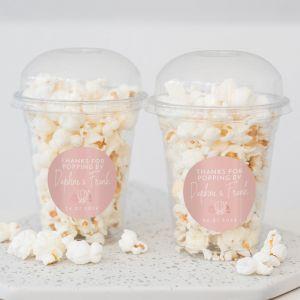 Popcorn beker Summer glow trouwbedankje