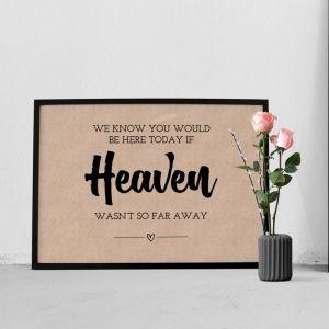 poster heaven kraft
