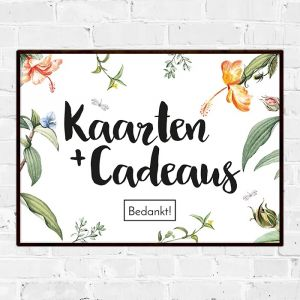 Poster kaarten en cadeaus love blooms