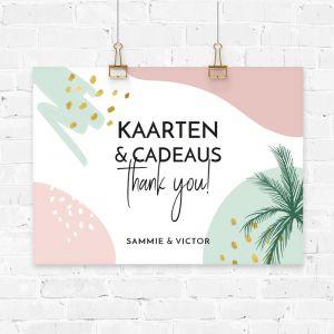 Poster kaarten & cadeaus Paradise love