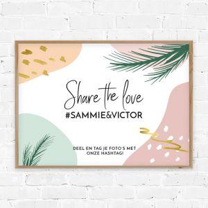 Poster social media # Paradise love