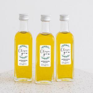 Olijfolie flesje Lovely Eucalyptus