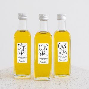 Olijfolie flesje Modern