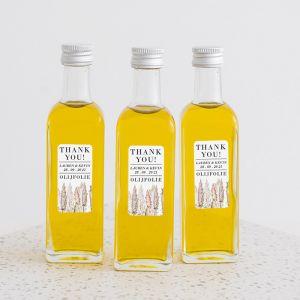 Olijfolie flesje Pampas Gras