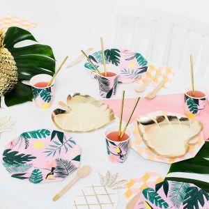 Bordjes ananas Tropical (8st) Meri Meri