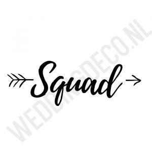 T-shirt Squad Pijl