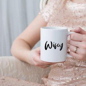 Mok wifey met naam en achternaam modern