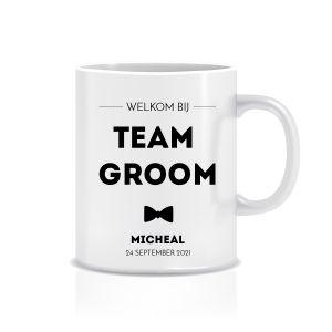 Mok team groom  met naam