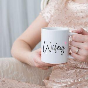Mok wifey met naam en hart