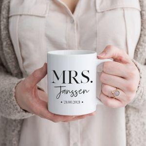Mok Mrs. met achternaam