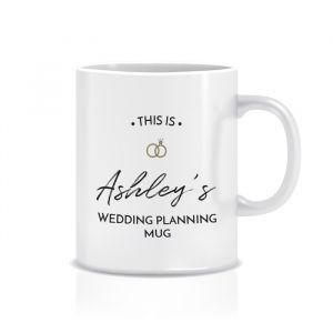 Mok weddingplanning met naam