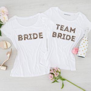 T-shirt Team Bride Industrial