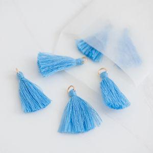 Mini tassel serenity blue (25st)