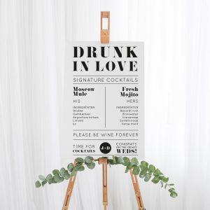 Cocktailbord Modern paper