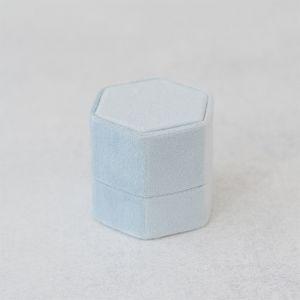 Velvet ringdoosje hexagon Skylight Forever Box