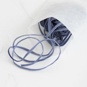 Velvet lint donkerblauw (10m)