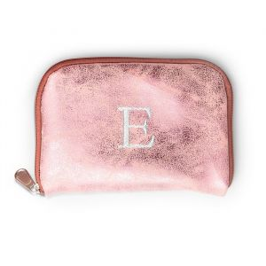 Opvouwbare ballerina's met tasje roze gepersonaliseerd
