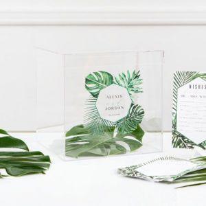 Enveloppendoos Botanical gepersonaliseerd