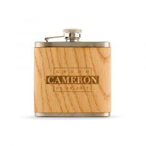 Whiskeyfles houtfineer Groom